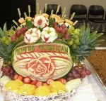 Adeline's fruit arrangement16